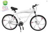 Completare la bicicletta variopinta, bicicletta motorizzata con la rotella di magnetico