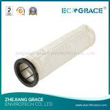 Sacchetto filtro del collettore di polveri del getto di impulso PTFE