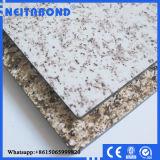 panneau composé en aluminium de marbre d'ACP de 4mm pour le revêtement de mur