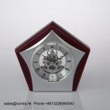 Движения часов высокого качества часы K8034 стола каркасного деревянные