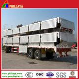 Della base rimorchio del camion del rimorchio semi con le serrature del contenitore di 40FT