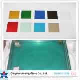 El verde/teñió el vidrio reflexivo endurecido con alta calidad