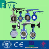Bolacha Type Cast Iron Butterfly Valve do RUÍDO com EPDM Seat