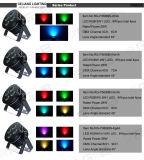 Mini DEL RGBW et lumière d'étape de PARITÉ 36 de Rgbwyu