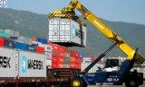 Overzees die van China aan Duitsland verschepen