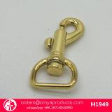 袋のための新製品の旋回装置の止め金項目金属メッキの黄銅のスナップのホック
