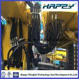 Vier gewundene Falten der Hochleistungsdraht-hydraulischen Schläuche