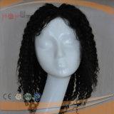 Do comprimento Curly do ombro do Afro tipo cheio peruca de Handtied das mulheres da forma do laço (PPG-l-0848)