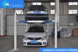 Elevatore idraulico di parcheggio dell'automobile di alberino quattro cilindro perfetto di qualità del singolo