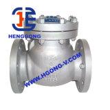 Elevador de API/JIS/DIN/válvula de verificação industriais de bronze flange do balanço