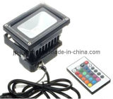 RGB 10W LED Flood Light con la rf Controller (83710RGB)