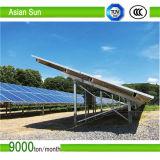 Suporte comerciais do telhado do painel solar, sistema solar da montagem do telhado do estanho de alumínio