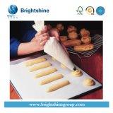 Papel impermeable a la grasa blanco antiadherente de la hornada del silicón para la panadería