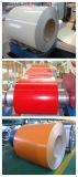 PPGI/a enduit la bobine d'une première couche de peinture en acier galvanisée (0.14--0.8mm)