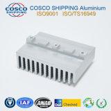 Aluminio / aluminio disipador de calor con mecanizado CNC