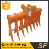Rastrello della radice di inclinazione di alta qualità dei pezzi di ricambio dell'escavatore della Cina