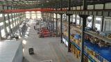 Machine industrielle de pellicule d'emballage de palette