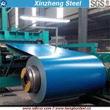 (0.14mm-1.0mm) La tôle de Dx51d ASTM PPGI a enduit la bobine d'une première couche de peinture en acier galvanisée