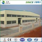 Constructeurs préfabriqués d'acier de construction pour le bureau de construction d'entrepôt d'atelier