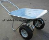 Carriola russa del mercato della doppia rotella (Wb6211)
