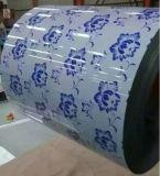 Катушка листа печатание 600-1250mm настилая крышу покрынная цветом стальная для здания
