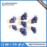 Le système pneumatique usine les connecteurs pneumatiques de boyau de fournisseurs