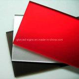 Лист 3mm пластмассы PMMA акриловый для рекламировать