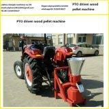 Máquina conducida Pto de la pelotilla de la biomasa del polvo del papel usado