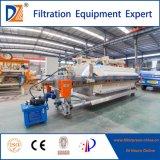 Automatische vertiefte 2017 Filterpresse mit S.S. 304 beschichtend für Bier-Industrie