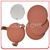 Верхнее Quality Genuine Leather Coaster Set для Promotion Gift
