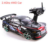 Control remoto de gran tamaño modelo de carreras de radio de 2,4 GHz de coches de juguete