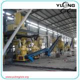 Machine de production de granule de roseau de grande capacité