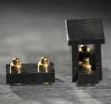 Conetor de Pin personalizado de 2-Pin Pogo com chapeamento de ouro