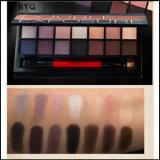 Sombra de ojos con pincel y rimel 14 colores paleta de sombra de ojos