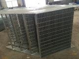 O MERGULHO quente do OEM galvanizou o Stairway externo da fabricação de metal para o uso do edifício