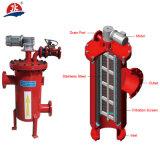 Wasserbehandlung manuelles L Selbstreinigungs-Filter-System