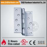"""Bisagra de puerta mencionada de la UL 4.5 fuego de X3.4mm """" X4 """" clasificado"""