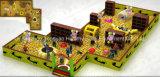 Cour de jeu d'intérieur luxueuse pour des enfants