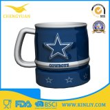 Tazza di caffè di ceramica vigorosa della tazza di tè di vendita calda NFL con a buon mercato