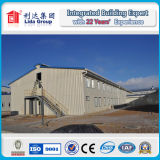 Costruzione d'acciaio prefabbricata della fabbrica del magazzino della costruzione del calibro chiaro