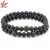SMB006 Popular Pulseira Onyx Black Mat