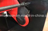 A placa QC12y-16X3200 de aço hidráulica corta a máquina de Cuting do metal do CNC