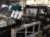 Automático que hace la máquina 6 línea de bolsas de plástico con corte en frío