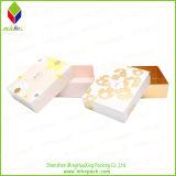 Boîte-cadeau de papier de empaquetage cosmétique à extrémité élevé