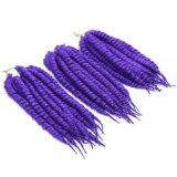Cheveux synthétiques bon marché populaires chauds de 2016 La Havane, tresses de crochet de torsion de mambo de La Havane