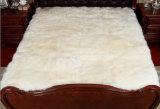فروة سرير غطاء صوف طويلة فروة غنم حقيقيّة [أوسترلين]