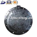 延性がある鉄のマンホールカバーの中国の鋳物場の製造者Qt500-7の円のマンホール