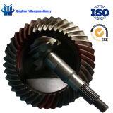 Ingranaggi conici di spirale della trasmissione dell'asse di azionamento del camion del Fukuda del metallo di precisione BS6099 10/41