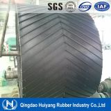 Abra V Pattern Cheveon Rubber Cleated Conveyor Belt.