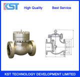 Válvula de verificação de alta pressão do balanço do aço de molde